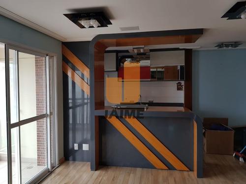 Apartamento Padrão Com 1 Dormitório E 1 Vaga. - Ja4706