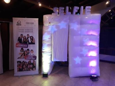 Alquiler De Fotocabina Inflable Y Espejo Magico Para Eventos