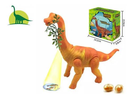Dinossauro Anda, Bota Ovos, Sons E Luz E Projetor Promoção