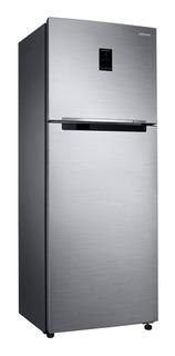 Geladeira inverter no frost Samsung RT38K5530S8 look inox com freezer 384L 110V