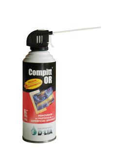 Compitt Or Aire Comprimido Aerosol 440cc Gatillo Delta