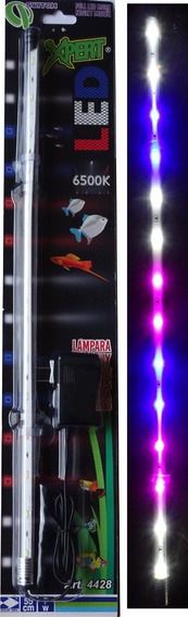 Lampara Led Acuario Pecera Peces 55 Cm Sumergible Y Externa 4428