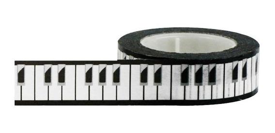 Cinta Decorativa Washi Tape Piano Little B