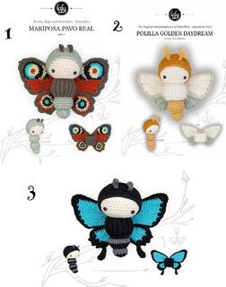 5 Patrones A Crochet - Lalylala Y Más