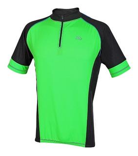 Camisa Ciclista Manga Curta Com Zíper Realtex 0998