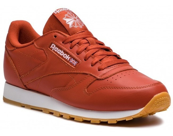 Tênis Reebok Classic Leather Marrom Sneaker Original