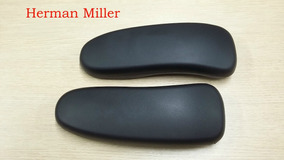Apoio De Braços Herman Miller Aeron Chair Em Vinyl *sem Uso*