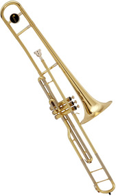 Trombone De Pisto Longo Eagle Em Sib Com Estojo - Tv602