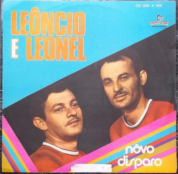 Lp Leôncio E Leonel (novo Disparo) Novissimo