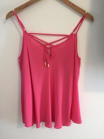 Camisa Rosa Feminina Lofty Style Tam M