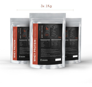 Kit: Whey 3kg + Creatina 500g + Waxy Maize 2kg