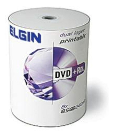 100 Mida Dvd+r Dl Elgin Umedisc Printable