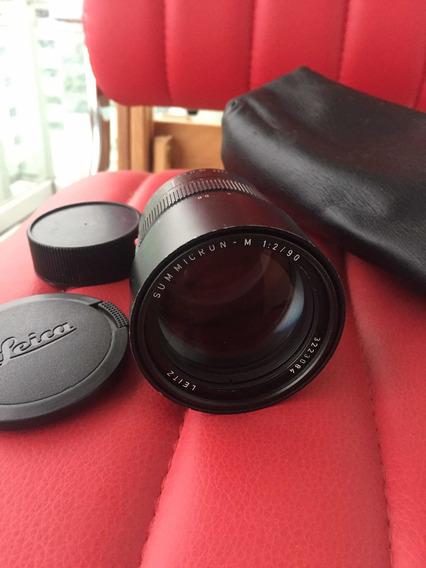 Leica Summicron 90mm F2 M Leitz