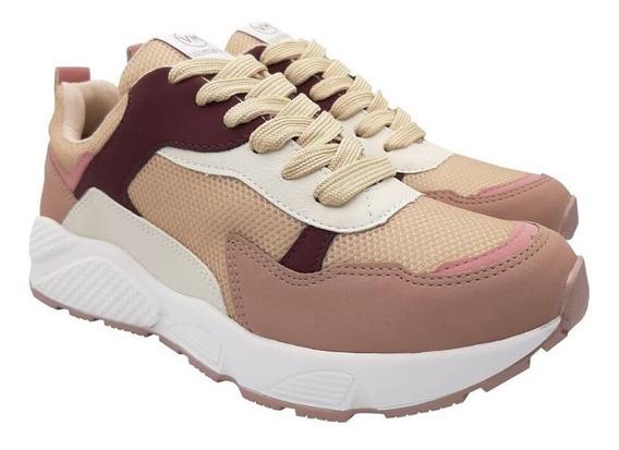Tênis Feminino Via Marte Chunky Sneaker Robusto Casual