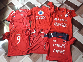 Camisetas Niño Seleccion Chilena