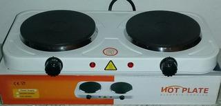 Cocina Electrica De 2 Hornillas Hot Plate Somos Tienda