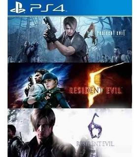 Residen Evil Triple Pack