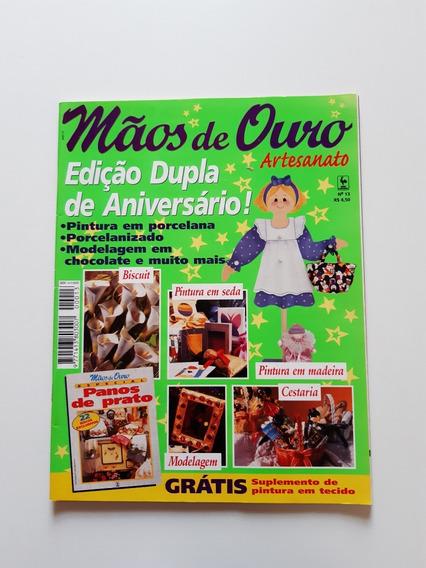 Revista Mãos De Ouro Artesanato Pintura Em Madeira D723