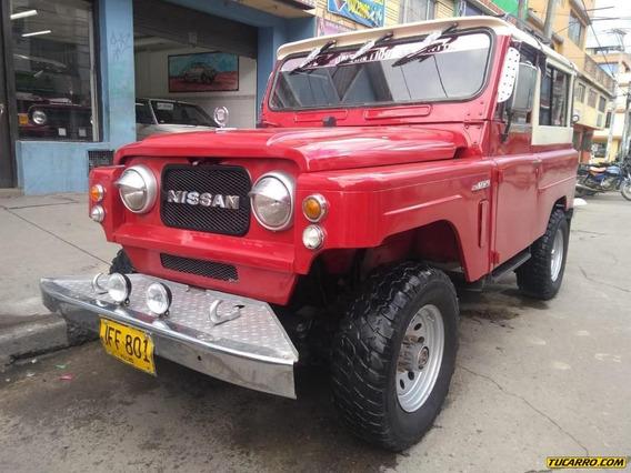 Nissan Patrol Cabinado Mt 4x4