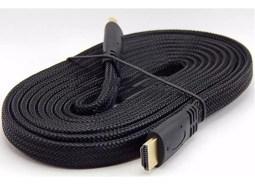 Cable Full Hdmi Con Malla Reforzado 10 Mts Wash 3d Tv Bluera