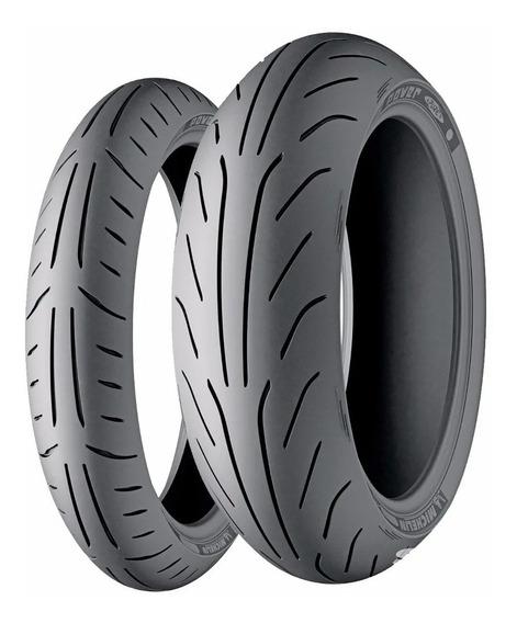 Par Pneu Power Pure 110/90-13 + 150/70-13 Burgman Michelin