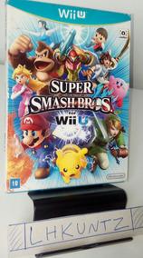 Lote Wii U Jogos Mario Kart 8 - Smash - New Mario Bros U