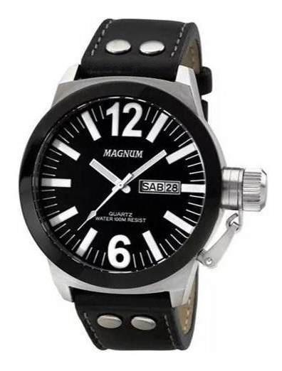 Relógio Masculino Magnum Military Ma31533c + Pulseira