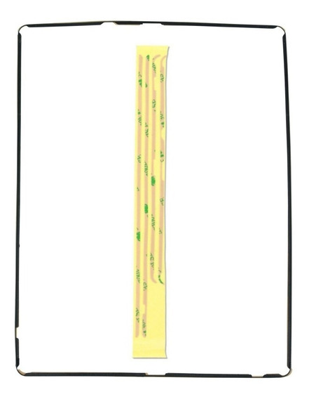 Moldura Frame Aro Touch iPad 2 3 4 + Adesivo