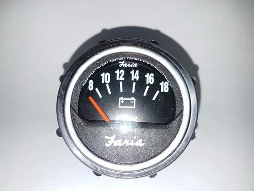 Reloj Voltimetro Faria Original