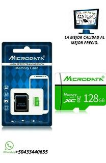 Memoria Micro Sd, 128 Gb Clase 10. Envío Gratis Todo Hn