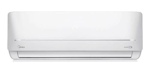 Aire acondicionado Midea split inverter frío/calor 4506 frigorías blanco 220V MSABIC-18H-01F