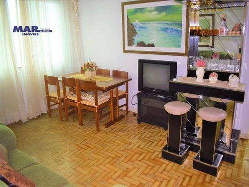 Imagem 1 de 10 de Apartamento Residencial À Venda, Centro, Guarujá - . - Ap10646