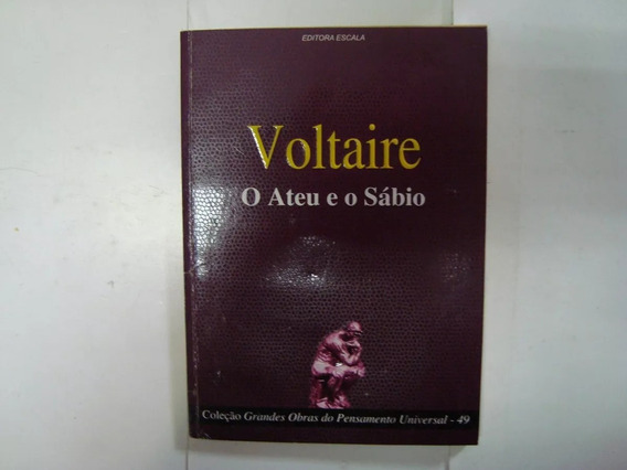 Livro Voltaire - O Ateu E O Sábio #49 - D