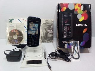 Nokia Xpressmusic 5220 Azul/negro