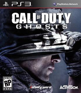 Call Of Duty Ghosts Ps3 Juego Fisico Sellado Playstation 3