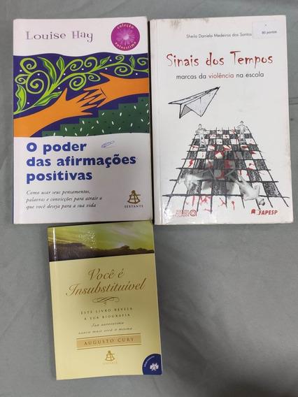 3 Livros - Sinais Dos Tempos + Você É Insubstituível +