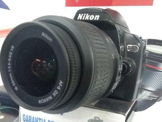 Câmera Nikon D40 C/ 18-55