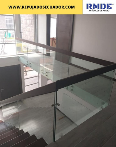 Pasamanos Y Cerramientos En Vidrio Templado Y Acero Inox.