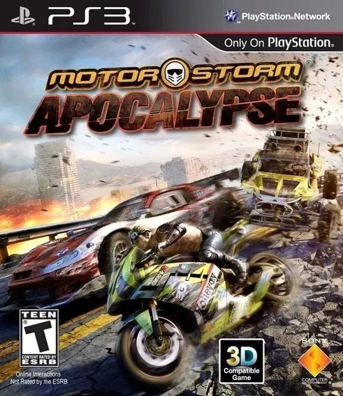 Motor Storm Apocalypse Ps3 Psn Jogo Original Envio Rápido