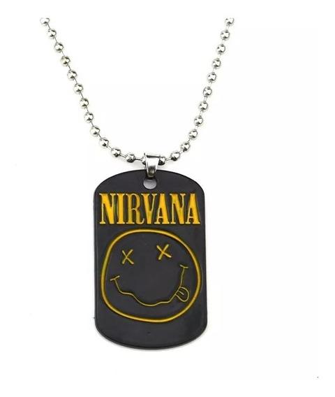 Colar Nirvana Corrente Unissex