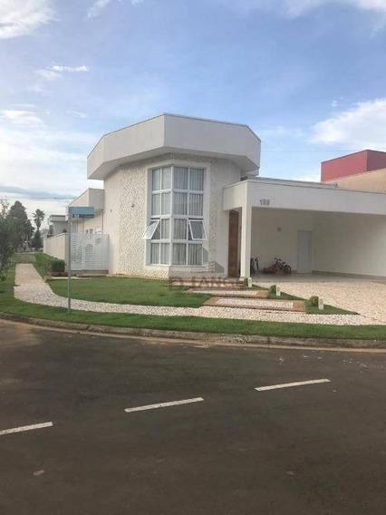 Casa Com 3 Dormitórios À Venda, 210 M² Por R$ 820.000,00 - Condomínio Campos Do Conde Ii - Paulínia/sp - Ca13791