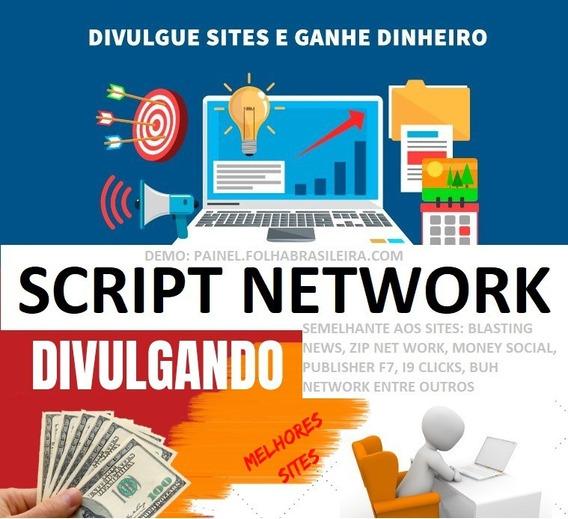 Script Plataforma Network - Ganhar Dinheiro Divulgando Links