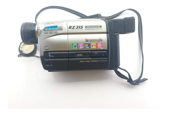 Filmadora Panasonic Nv-rz315 + Case + Adaptador + 4 Fitas