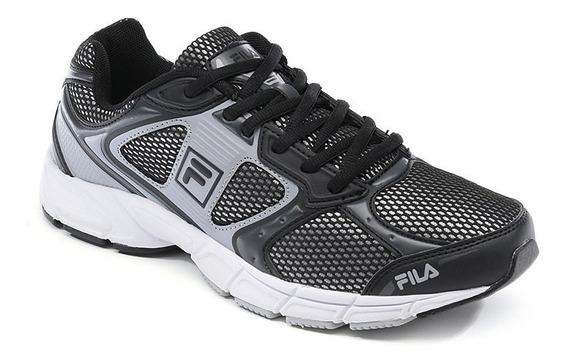 ¡¡oferta!! Zapatilla Fila Running Negra ¡envío Gratis!