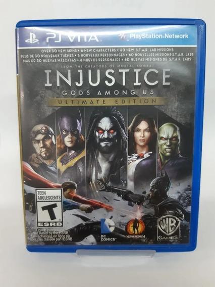 Jogo Ps Vita Injustice Gods Amongus Ultimate Edition
