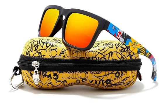 Óculos De Sol Masculino Polarizado Estiloso Premium Top
