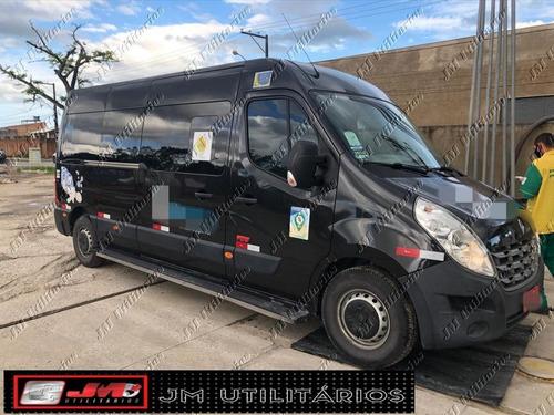 Imagem 1 de 10 de Renault Master Ano 2018 L3h2 Marticar Jm Cod.826