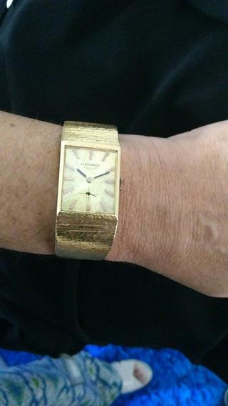 Relógio Longines Em Ouro