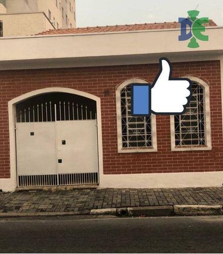 Imagem 1 de 10 de Casa Com 2 Dormitórios À Venda Por R$ 250.000 - Centro - Jacareí/sp - Ca0763