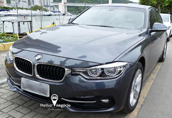 Bmw 320i 2.0 Turbo Active Flex Aut. 2017 Cinza